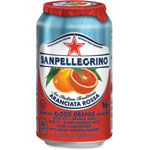 Nestle Sparkling Fruit Beverages, Aranciata Rossa (Blood Orange), 11.15 oz Can, 12/Ctn
