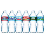 Nestle Bottled Spring Water, 1/2 Liter, Case Of 24