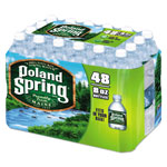 Poland Spring Natural Spring Water, 8 oz Bottle, 48 Bottles/Carton
