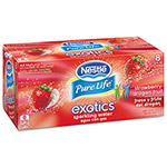 Nestle Pure Life Exotics Sparkling Water, Strawberry Dragonfruit, 12oz Can, 24/Carton