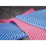 Medline Convoluted Foam Bed and OR Pads - Overlay, Convolute, Stdfoam, 32X73X4, 4/Cs