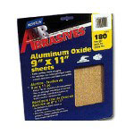 "Norton 9"" x 11"" P220A Grit Sanding Sheets Gold 5 Pack"