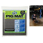 "PIG® Universal Light-Weight Absorbent Mat Tablet - 14"" x 14.25"" (15 Pads per Tablet)"
