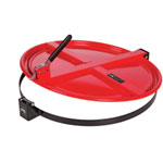 PIG® Latching Drum Lid for 55 Gallon Drum - Red