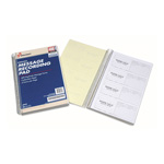 "SkilCraft Message Book, 2-5/8"" x 6-1/4"", 400 Message Forms/Book, White"