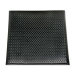 SkilCraft Industrial Duty Vinyl Anti-Fatigue Mat, 2' x 3', Black