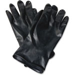North Safety Products Butyl Chemical Protection Gloves, SZ-10, 13mil, 1/PR, BK