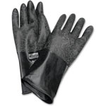 "North Safety Products Butyl Chem Protection Gloves, Sz-8, 14"", 17mil, 1/PR, BK"