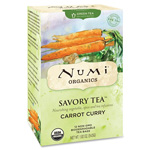 Numi Organic Savory Tea, Decaf, 12 Tea Bags/BX, Carrot Curry
