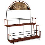 "Numi Organic Tea Display Rack, Holds 8 Boxes of Teas, 17"" x 7"" x 14-1/2"", NTL"