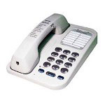 Northwestern Bell Basic Feature Phone, White