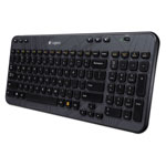 Logitech K360 Wireless Keyboard for Windows, Black