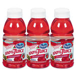 Ocean Spray 100% Juice, Cranberry, 10 oz. Bottle, 6 per Pack