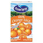 Ocean Spray Aseptic Juice Boxes, 100% Orange, 4.2 oz, 40 per Carton
