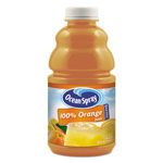Ocean Spray 100% Juice, Orange, 32 oz Bottle, 12/Carton