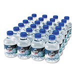 Office Snax 100% Pure Natural Bottled Spring Water, 8 oz. Size, 24 Bottles/Carton