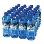Office Snax 100% Pure Natural Bottled Spring Water, 1/2 Liter Size, 24 Bottles/Carton