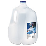 Office Snax 100% Pure Natural Bottled Spring Water, Gallon, 3 Bottles/Carton