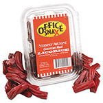 Office Snax Licorice, Red, 15 oz