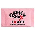 Office Snax Nutrasweet Pink Sweetener, 2000 Packets/Carton
