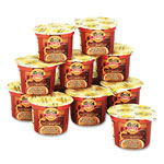 Office Snax Single Serve Instant Oatmeal, Maple Brown Sugar Flavor, Twelve 1.9 oz. Bowls/Box
