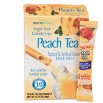 Office Snax Sugar-Free Peach Tea Flavor Stix For Bottled Water