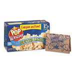 Office Snax Light Butter Flavor Pop Weaver Microwave Popcorn
