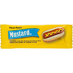 Office Snax Mustard Single-Serve Packets, 5.5gr, 200/CT, YW