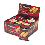 Ragold/Office Snax Walkers Shortbread Fingers Cookies, 2 Cookies/Pack, 24 Packs/Box