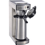 CoffeePro Air Pot Brewer, Stainless Steel, 75 oz, 8 3/4 x 14 3/4 x 21 1/4
