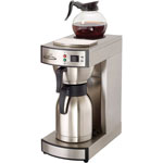 CoffeePro Thermal Institutional Brewer, Stainless Steel, 12 Cup, 15-1/2 x 14-3/4 x 17
