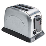 CoffeePro 2-Slice Toaster with Adjustable Slot Width, Stainless Steel