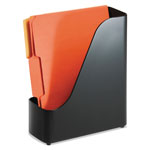 Officemate 2200 Series Magazine File, 4 x 9 1/2 x 11 1/2, Black
