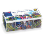 Officemate Clip Organizer Value Pack, 18/PK, Assorted
