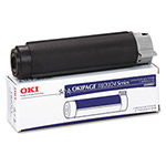 Okidata Toner Cartridge for Okipa18, 20, 24 Series, Black