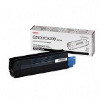 Okidata High Yield Toner Cartridge for C5100, C5150, C5200, C5300, C5400, Black