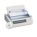 Okidata ML320T Turbo Dot Matrix Impact Printer 9 Pin 435cps Super Speed Draft