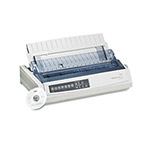 Okidata ML321T Turbo Dot Matrix Printer, 9 Pin, 435cps Super Speed Draft