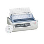 Okidata 390 24 Pin Dot Matrix Turbo Printer, 80 Columns