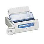 Okidata 490 24 Pin Printer, 475 cps, USB/IEEE Parallel, Narrow Carriage