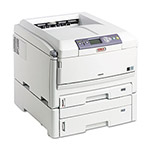 Okidata C830DTN Wide-Format Color Printer