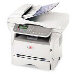 Okidata MB280 Monochrome Multifunction Laser Printer (Fax/Copier/ Printer/ Scanner)