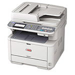 Okidata MB491 MFP Mono Multifunction Laser Printer