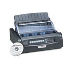 Okidata ML420 Dot Matrix Printer, 120V, 9 pin, 570cps, 128KB RAM, Parallel/USB