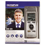 Olympus DM-420 Digital Voice Recorder, 2GB