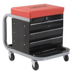 Omega 300 Lb. Capacity Creeper Seat Tool Box
