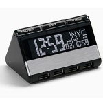 Oregon Scientific World Travel Clock with USB Hub