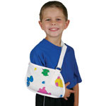 Medline Pediatric Print Arm Sling - Sling, Arm, Pediatric Print, Child