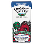 Organic Valley 2% Milk, 1 Liter, 12/Carton