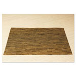 Office Settings Placemats, 17 x 12, Camel, 8/Box